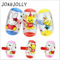 JOKEJOLLY 2pcs/lot Cartoon Inflatable Air Hammer With Bell