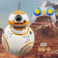 luck city Fast delivery Upgrade Model Star Wars RC BB-8