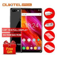 "Mobile Phone Oukitel MIX 2 Telephone 6G RAM 64G ROM 5.99"" Full Screen MTK6757"