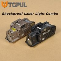 TGPUL SBAL-PL Tactical Combo Military Weapon Light White Illuminator Red Aiming Laser