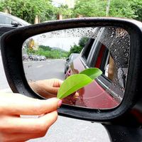 2PCS Car Rearview Mirror Anti Fog Clear Rainproof Rear View Soft Protective Film Auto