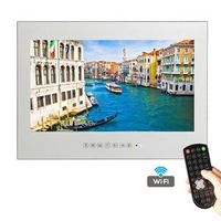YAWATER Free Shipping 19 inch WiFi HDMI HD Smart Waterproof Android Mirror TV