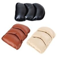 VODOOL Universal Car Seat Cover Soft Leather Auto Center Console Box Armrest