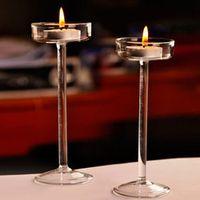 SOLEDI Elegant Romantic Glass Candle Holder Home Decoration
