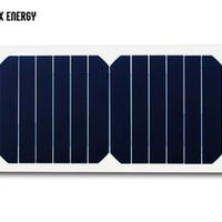 GGX ENERGY DIY Use 6.5W/6V 1A Sunpower 23% Efficiency Solar Cell Portable