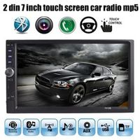 PolarLander 7 inch Bluetooth FM USB TF AUX IN 2 DIN size MP4 MP5 Player HD