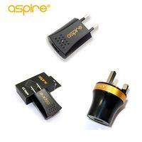 100% Original Aspire A/C US UK EU Version Adaptor Electronic Cigarette Plug Wall Charger