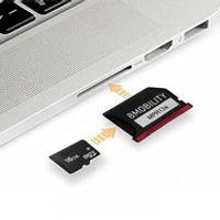 "HANXUNDA Memory card Reader Adapter For MacBook Retina 13"" Year Late Early A1425"