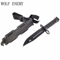 WOLF ENEMY Wargame Airsoft Tactical Toy Plastic M9 Outdoor Hunting Training Camping
