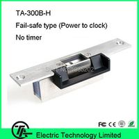 TA-300B-H stainless door 12V DC fail safe NC narrow-type door electric strike lock for access control locks fail-safe type