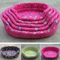 New,Fashion Printed Five Size Pet  Kennel Comfortable And Breathable  Cama Para Pet Cheap Dog Bed Pet Bed