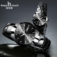 KEEP IN TOUCH Luxury Lover Watches Quartz Calendar Dress