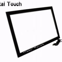 Xintai Touch Real 2 points 65inch IR frame multi touch screen overlay kit