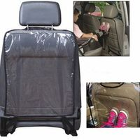 Universal 59 x 44 cm Children Baby Waterproof Car Auto Seat Back Clean Cover Protector Kick Mud Mat Transparent