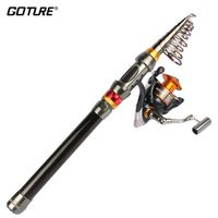 Goture Fishing Reel Combo 2.7M 3.0M 3.6M Sea Rod Pole with GT4000 Spinning 5.2:1