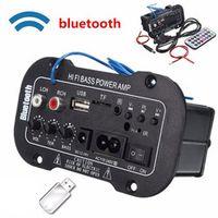 KONNWEI Multi-Functional Bluetooth HiFi Bass Power AMP Stereo Digital Amplifier USB