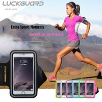 LuckGuard Sport Armband Case Cover For iPhone 6 s Plus Samsung Galaxy S6 S7 Edge J7