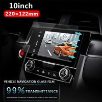 Vehemo Tempered Glass For Car GPS MP5 Video Player Screen Protector Film Premium