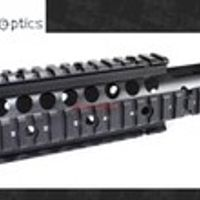 Vector Optics 12'' inch RAS Float Handguard Quad Picatinny Rail OnePiece .223 5.56