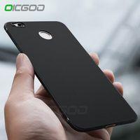 OICGOO Luxury Back Matte Soft Silicon Case for Xiaomi Redmi note 4 Full Cover 4X 4 4
