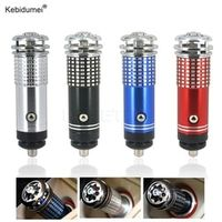 kebidumei Air Purifier 12V Practical Mini Auto Car Fresh Freshener Ionic