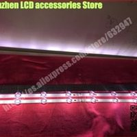 RUNHENGXIN 8 piece/lot FOR Replacement Backlight Array LED Strip Bar LG 42LB580V 4PCS