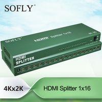 HDMI 1.4 3D 1x16 4K Splitter 16 ports output