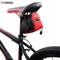 YANHO Waterproof Bicycle Saddle Bags 15cm*10cm*8cm Reflective Cycling Seat Tail