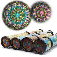 pudcoco Kaleidoscope Colorful Toy Kids Birthday Educational
