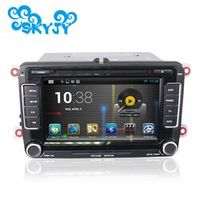"""7"""" Android 5.1.1 2 Din Car DVD Player GPS for VW Scirocco Golf Caddy Altea Exeo with Retail Package Free 8G Gps Card and Canbus"""