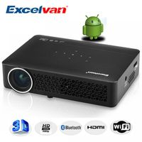 Excelvan DLP800WM DLP Projector Android 4.4 OS 1280*800 Resolution Home Theater