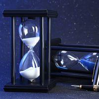 AOJE 30 Minutes 5.5 inch Colorful Hourglass Sandglass