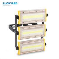 LUCKYLED LED flood light 50W 100W 150W floodlight Waterproof IP65 AC85-265V outdoor