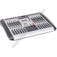 MICWL 12 Channel 7-Band EQ Audio Music Mixer Mixing Console XLR LINE Input 48V