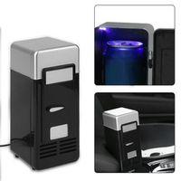 KONNWEI Black ABS 5V 10W USB 19.4*9*9cm Mini Car Portable Drink Cooler Boat Travel