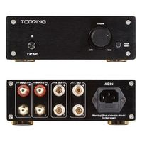 TOPPING TP60 High Power Pure Amp 2*80W Tripath TA2022 Class-T Stereo Amplifier