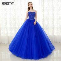 BEPEITHY Floor-Length Ball Gown Quinceanera Dress