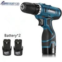 16.8V Multifunction Rechargeable Lithium Battery*2 Torque Drill bit cordless