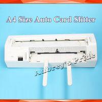 suruech 220V 90x54mm Full Bleed A4 Size Business Card Paper Cutter Slitter 10Ups