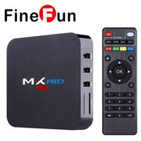 FineFun MX Pro S905 Android 5.1 BOX 1GB/8GB Gigabit LAN WiFi H.265 KODI 16.0 Loaded