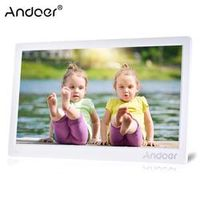 "Andoer 17"" Digital Photo Frame 1920 * 1080 Full View HD Advertising Machine Support"
