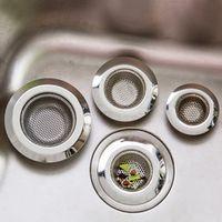 DONYUMMYJO Stainless Steel Strainer Shower Drain Bathroom Plug Trap Hair Catcher
