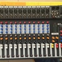 MLLSE CT120S-USB New 12 Channels Mixing Console Equipment Professional Audio DJ Mixer
