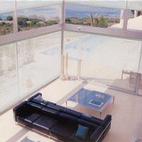 shangri-la triple shade polyester window blinds