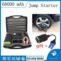 MINIFISH Factory Emergency Portable Mini Car Jump Starter 68000mAh With Air Pump