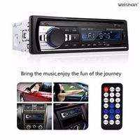 weishan weishanCar - Bluetooth Car Stereo Audio Single DIN In Dash 12V FM Receiver