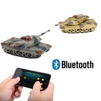 HuanQi H500 1/36 RC Battle Mini Tank With Smart Phone Bluetooth Controlled Gravity Sensing Commander Series Rc Toy Kid Fun Gift