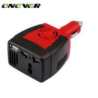 Onever 150W Power Inverter DC To AC 12V To 220V Car Voltage Converter Automobiles