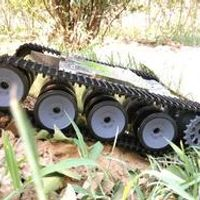 ROT-5 caterpillar off-road vehicle chassis tank (can upgrade their own remote control, speed)