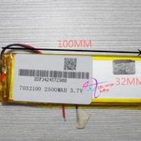 tablet 3.7V polymer lithium battery 7032100 MP5 MP4 power mobile DVD electronic